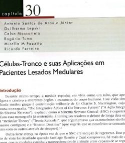 CÉLULAS-TRONCO E SUAS APLICAÇÕES EM PACIENTES LESADOS MEDULARES